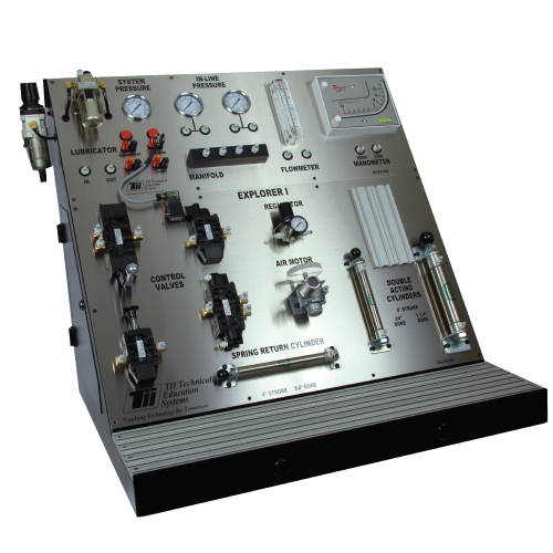 Industrial Pneumatics Training - TII Technical Education Systems