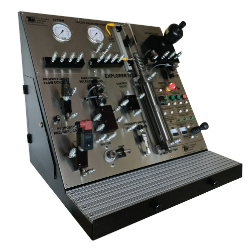 Industrial Electro-Hydraulics Training - TII Technical Training Systems